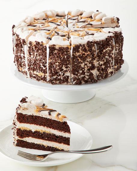 """Annie Pie's Bakery Milky Caramel Galaxy Cake, 10"""""""