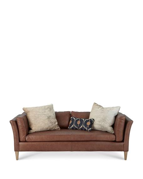 """Renwick Leather Sofa 86"""""""