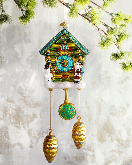 John Huras Cuckoo Clock Christmas Ornament