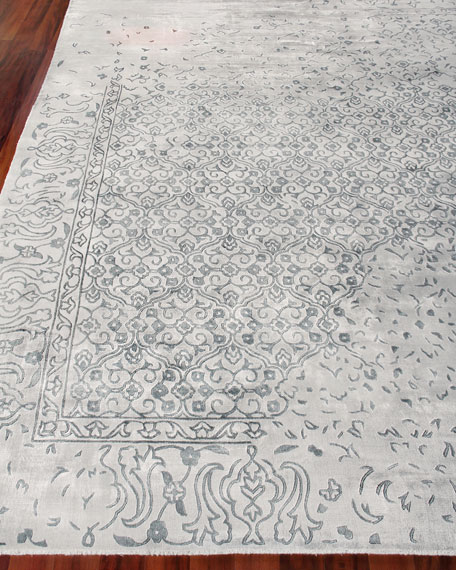 Image 1 of 3: Exquisite Rugs Caidence Hand-Knotted Rug, 6' x 9'