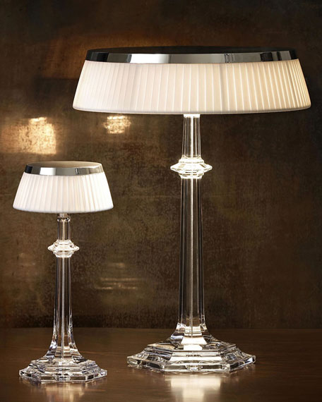 Baccarat Bon Jour Versailles Small Crystal Table Lamp