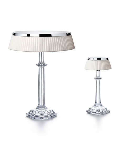 Baccarat Bon Jour Versailles Large Crystal Table Lamp