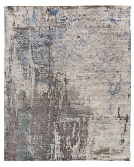 Exquisite Rugs Chrissy Hand-Knotted Rug, 9' x 12'