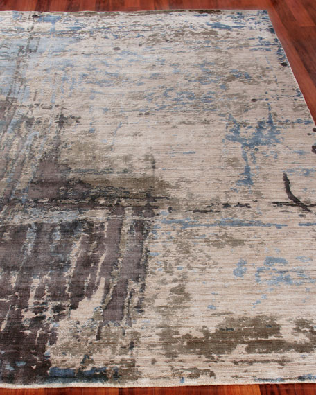 Exquisite Rugs Chrissy Hand-Knotted Rug, 6' x 9'