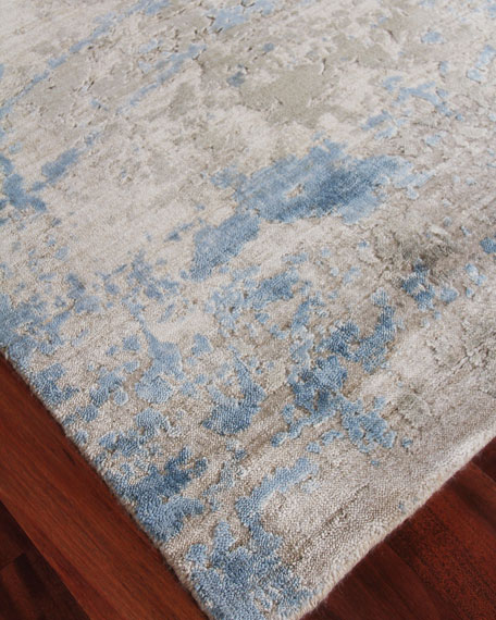 Exquisite Rugs Chrissy Hand-Knotted Rug, 10' x 14'