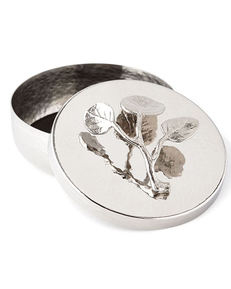 Botanical Leaf Trinket Box