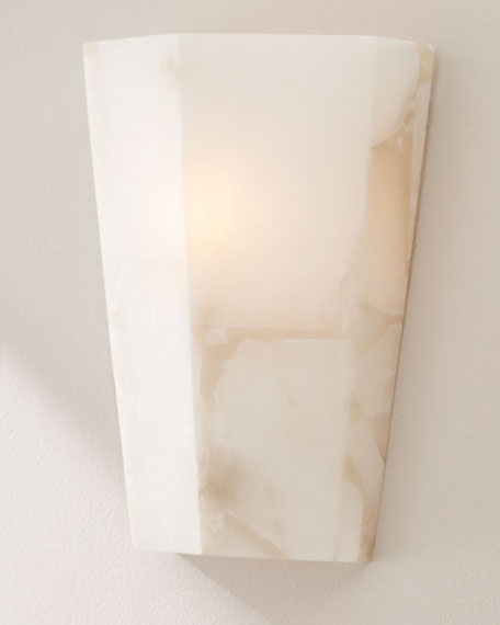 Jamie Young Tapered Alabaster Sconce