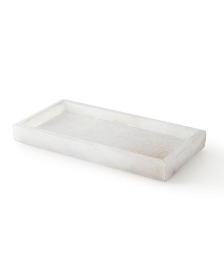 Kassatex Alabaster Bath Accessory Tray