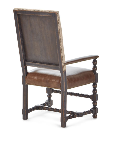Image 5 of 5: Hooker Furniture Pair of Casella Dining Arm Chairs
