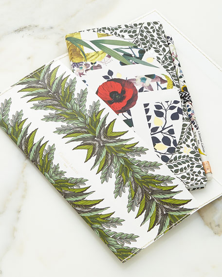 Christian Lacroix Primavera Notebook Set with Pencil Pouch