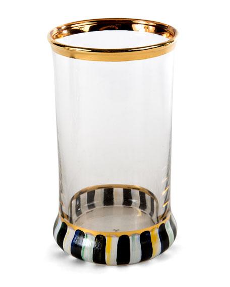 MacKenzie-Childs Tango Highball Glass