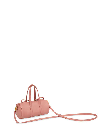 Mansur Gavriel Pebbled Mini Mini Leather Duffel Bag