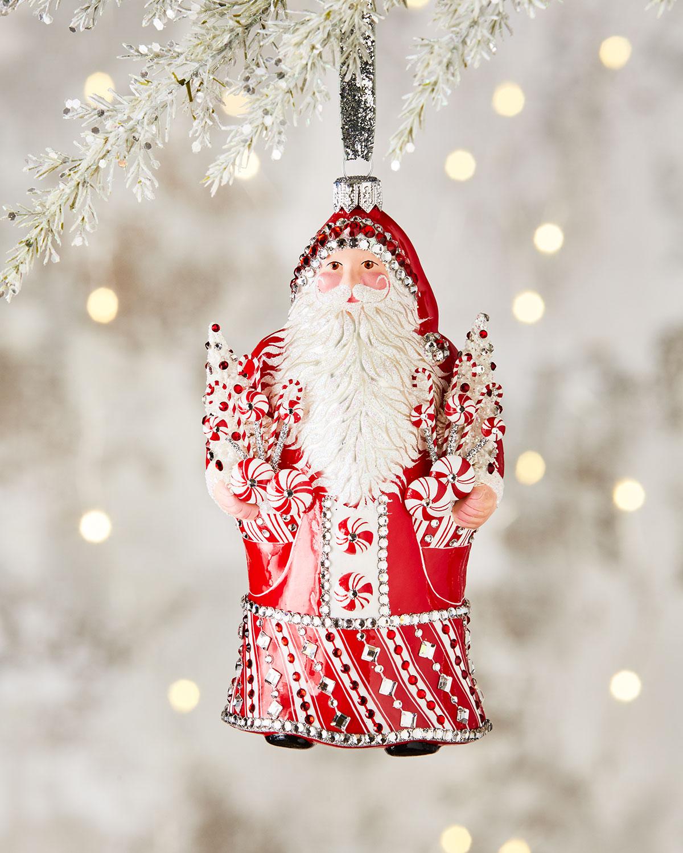 Patricia Breen Charming Peppermint Noel Ornament   Neiman Marcus