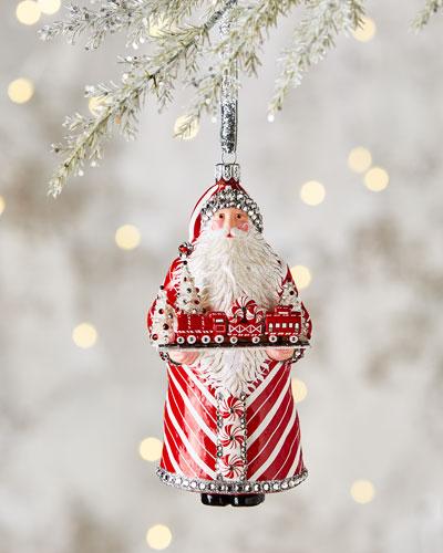 Winter Passage Santa Ornament