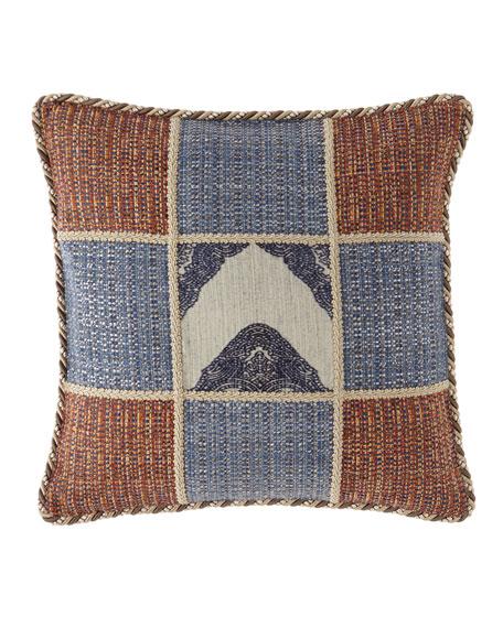 Sweet Dreams Mehndi Patchwork Boutique Pillow