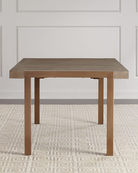Hooker Furniture Wyatt Rectangle Dining Table with Leaves