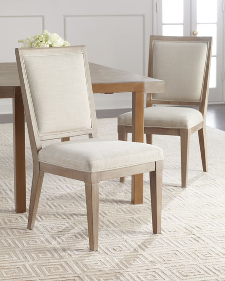 Hooker Furniture Pair of Wyatt Dining Side Chairs