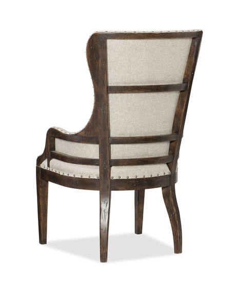 Hooker Furniture Pair of Dorianne Host Arm Chairs