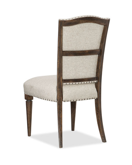 Image 2 of 2: Hooker Furniture Pair of Dorianne Dining Side Chairs