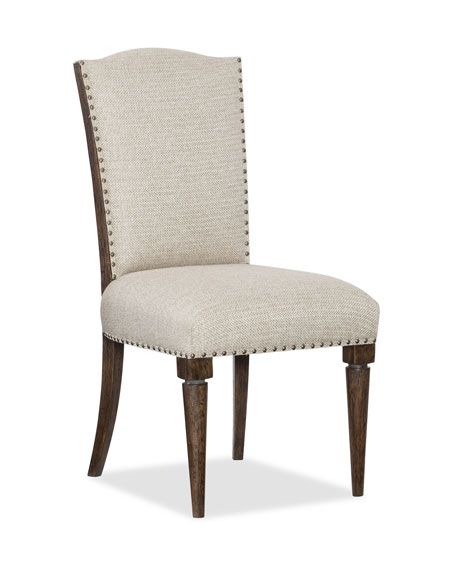 Image 1 of 2: Hooker Furniture Pair of Dorianne Dining Side Chairs