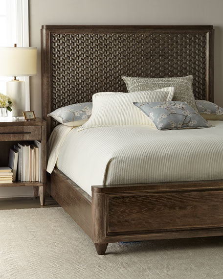 Elijah Queen Panel Bed
