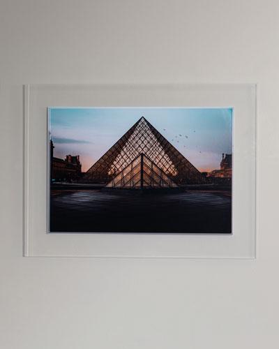 The Louvre Photography Print Framed Handmade Art