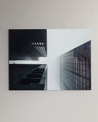 Looking Up Photography Print Handmade HD Metal & Acrylic Photo Art