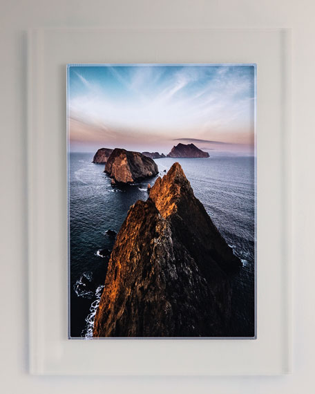 """Four Hands Art Studio """"Down the Line"""" Photography Print on Photo Paper Framed Wall Art"""