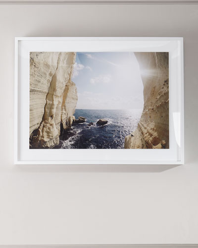 Peek a Boo Photography Print on Photo Paper Framed Art