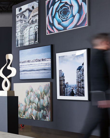 "Four Hands Art Studio ""Crashing"" Framed Photography Art Print on Canvas"