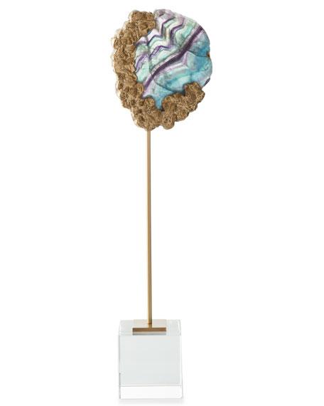 Fluorite Bud Tall Sculpture
