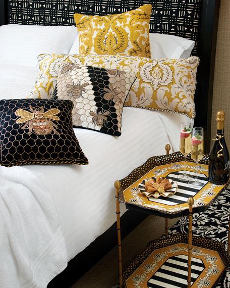 MacKenzie-Childs Beekeeper Pillow