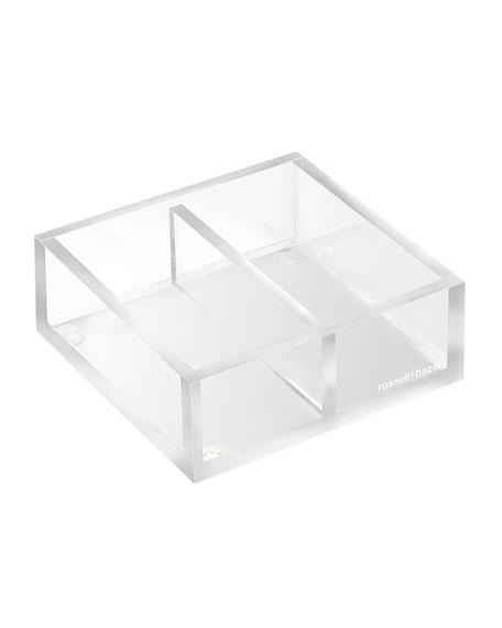 russell+hazel Acrylic Twin Desk Organizer Bloc