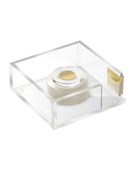 russell+hazel Acrylic Tape Dispenser Bloc