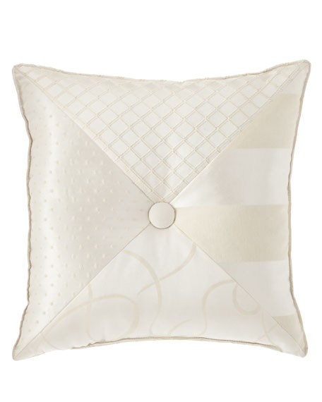 "Austin Horn Collection Leisure Pieced Pillow, 18""Sq."