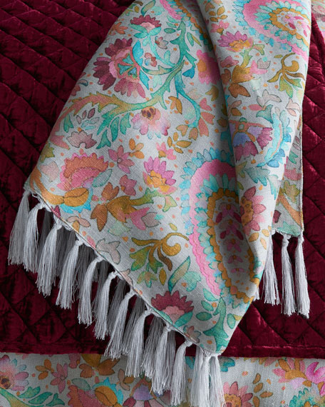 Pine Cone Hill Ines Linen Throw