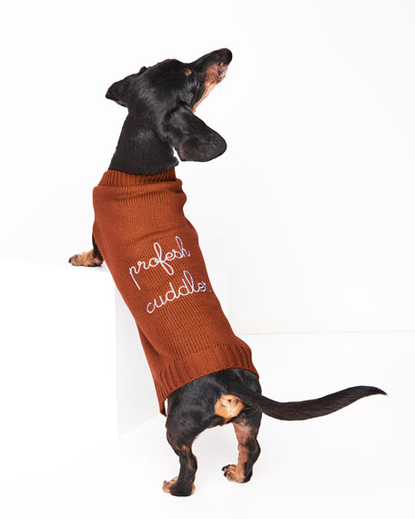 """Profesh Cuddler"" Dog Sweater"