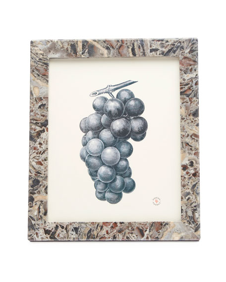 "Pigeon and Poodle Corsica Mixed Marble Picture Frame, 8"" x 10"""
