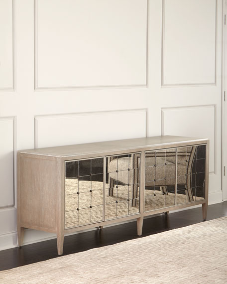 Hooker Furniture Eleri Antiqued Mirrored Dining Console