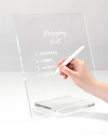 Image 2 of 2: Acrylic Memo Tablet