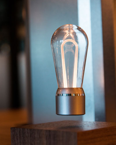 Nikola Floating  Edison Lightbulb