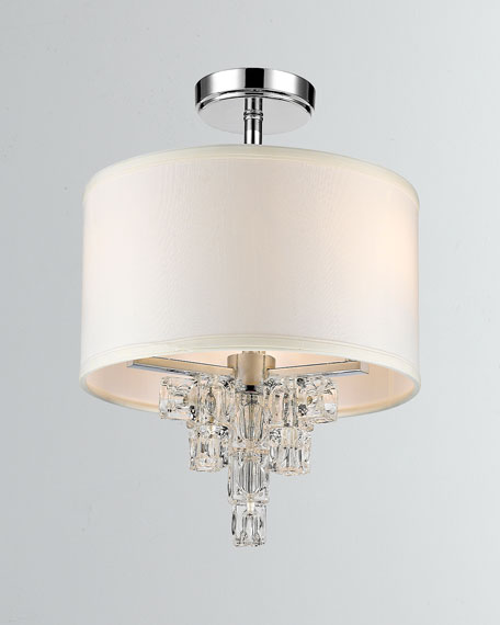 Addison 3-Light Polished Chrome Mini Chandelier