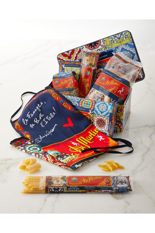 Di Martino Dolce & Gabbana Pasta & Apron Tin Box Set