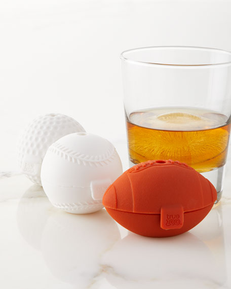 True Zoo Sports Ice Cube Molds, 3-Pack