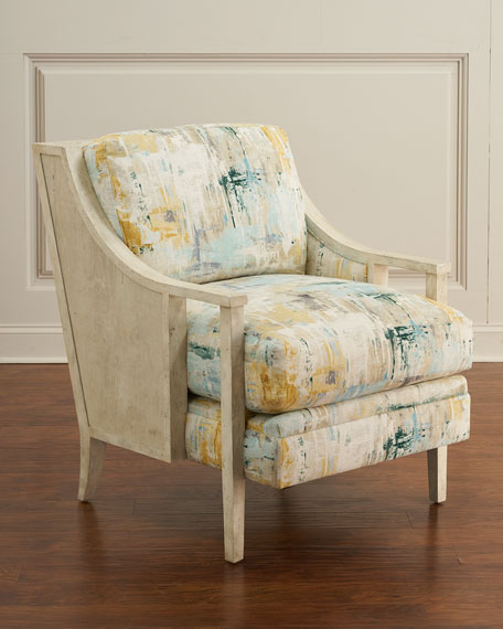 Image 1 of 3: Transitional Arm Chair