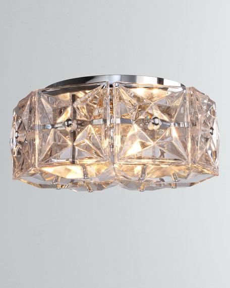 Collins 4-Light Polished Chrome Ceiling Mount