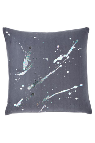 Aviva Stanoff Constellation in Prism Dusk Fleece Pillow