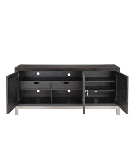 Decorage Stainless Ring Dining Console