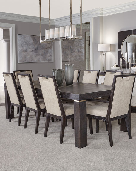Decorage Stainless Trim Dining Table