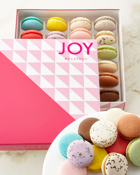 JOY Macarons Set of 24 Assorted Macarons